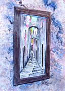 Mirror Paintings - Thru The Looking Glass by Ruth Bodycott