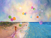 Oils Posters - Tide of Dreams Poster by Marie Green