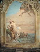 Angelica Framed Prints - Tiepolo Giambattista, Ruggiero Saving Framed Print by Everett