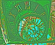 Clocks Digital Art Digital Art - Time by Devalyn Marshall