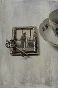 Old Woman Framed Prints - Time For Coffee Framed Print by Joana Kruse