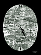 Attraction Drawings - Time is priceless by Omoro Rahim