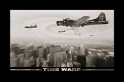Sepia Tone Digital Art - Time Warp by Mike McGlothlen