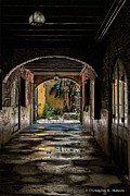 Christopher Holmes Metal Prints - To The Courtyard Metal Print by Christopher Holmes