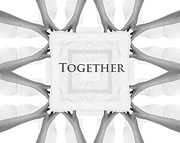 Help Digital Art Posters - Together Poster by Stefan Kuhn