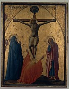 Crucifix Art Posters - Tommaso Di Ser Giovanni Cassai Known Poster by Everett