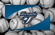 Baseballs Framed Prints - Toronto Blue Jays Framed Print by Joe Hamilton