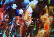 Racers Prints - Tour de France Print by Ron Jones