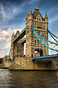 Famous Bridge Originals - Tower Bridge London by Pier Giorgio Mariani