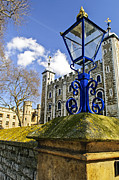 Tower Of London Print by Elena Elisseeva