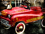 Bobbi Feasel - Toy Fire Truck