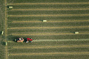 Agronomy Photos - Tractor On Field, Pueblo by John Wark