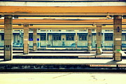 Train Town Photos - Train Station by Valentino Visentini