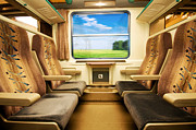 Class Art - Travel in comfortable train. by Michal Bednarek