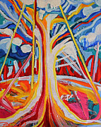 Conversion Paintings - Tree by Laura Tarnoff