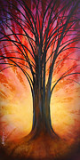 Inspirational Paintings - Tree of Life by Michael Lang