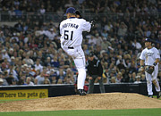 University Of Arizona Art - Trevor Hoffman by Don Olea