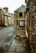 Neglect Prints - Trinity district of Frome UK 1977 Print by David Davies