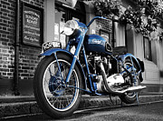 Thunderbird Photos - Triumph Thunderbird 1952 by Mark Rogan