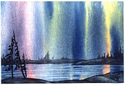 Portage Painting Prints - True North Print by Carmen Hathaway