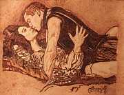 Romance Pyrography - Tudor Passion by Tracy Partridge-Johnson