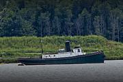 Randall Nyhof - Tugboat on the Kalamazoo River