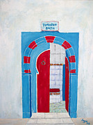 Inge Lewis Prints - Turkish Bath Print by Inge Lewis