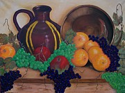 Jug Painting Originals - Tuscany Treats by Sharon Duguay