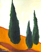 Modernism Mixed Media - Tuscany by Venus
