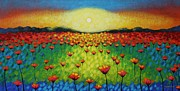 John  Nolan - Twilight Poppies