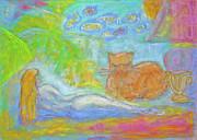 Barbara Anna Knauf - Two Felines