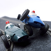 Bernard Jaubert - Two racecars