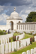 Ypres Framed Prints - Tyne Cot WW1 Commonwealth military cemetery Passchendaele Flanders Belgium Europe Framed Print by Jon Boyes