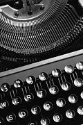 Typewriter Keys Photo Prints - Typewriter Print by Falko Follert