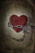 Chains Framed Prints - Unchain My Heart Framed Print by Joana Kruse