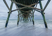 Under The Ocean Photo Prints - Under the pier Print by Matthew Trudeau