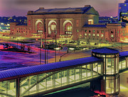 Kansas City Metal Prints - Union Station Metal Print by Don Wolf