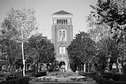 Universities Photo Prints - University of Southern California Bovard Administration Building USC Print by University Icons