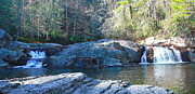 Nc Photos - Upper Linville Falls 3 by Cathy Lindsey