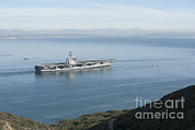 Featured Art - Uss Carl Vinson Gets Underway by Stocktrek Images