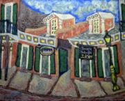 New Orleans Scenes Paintings - Utopia by Mona  Stilson