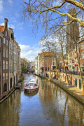 Boat Cruise Photo Prints - Utrecht Print by Joana Kruse