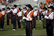 Saxes Posters - UVA Virginia Cavaliers Marching Band Poster by Jason O Watson