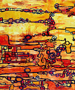 Vacuum Energy Print by Regina Valluzzi