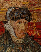 Cigar Mixed Media Prints - van Gogh Print by Alexander Gashunin