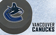 Hockey Art - Vancouver Canucks by Joe Hamilton