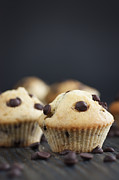 Mythja Prints - Vanilla muffins Print by Mythja  Photography