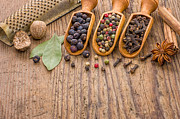 Palatia Photo - Various spices in wooden...
