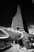Vdara Prints - vdara condo hotel and spa Las Vegas Nevada USA Print by Joe Fox