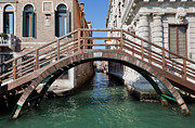 Lagoon Art - Venice Italy A bridge over Grand Canal by Michal Bednarek